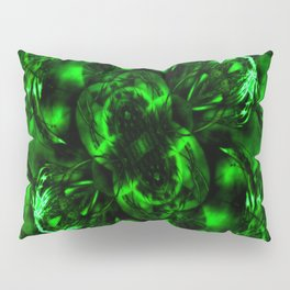 Emerald Green Fashion Design Pillow Sham