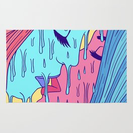 Psychedelic Lovers Rug