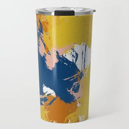 Colorful Abstract I Travel Mug