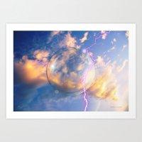 Unidentified Flying Orb Art Print