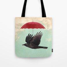 Raven Cover Tote Bag