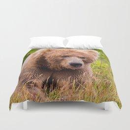 Brown Bear Kodiak Duvet Cover