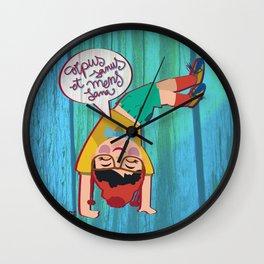 Corpus sanus et mens sana Wall Clock