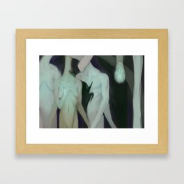 Sodom and Gomorra  Framed Art Print
