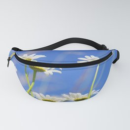 Summer Meadow with wild flowers and grass Fanny Pack