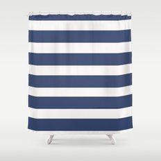 NAVY Nautical Shower Curtain