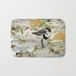 Two Ring Plover Bath Mat