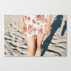 Flower Dress Canvas Print