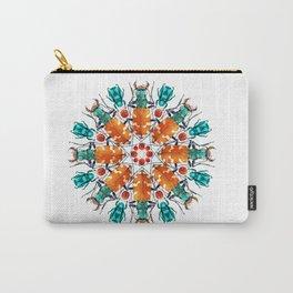 Bug Mandala Carry-All Pouch
