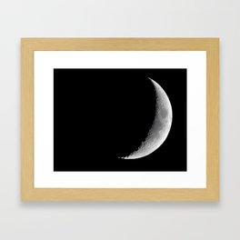 moon shot Framed Art Print