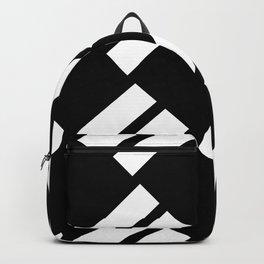 Pop Art Slanting Rectangles Backpack