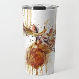 Moose Head Travel Mug