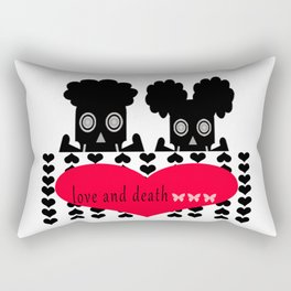 bbnyc: love and death Rectangular Pillow