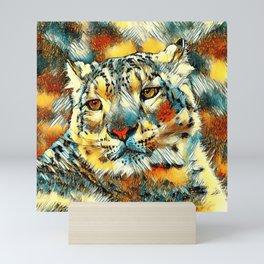 AnimalArt_Leopard_20170602_by_JAMColorsSpecial Mini Art Print