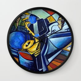 The Jam Session Wall Clock
