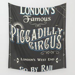 Londons famous piccadilly circus Wall Tapestry