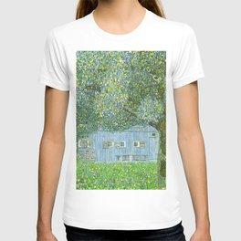 Klimt - Farmhouse in Upper Austria (new editing) T-shirt