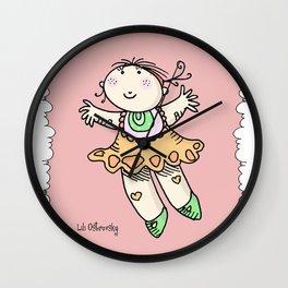 Menina Voadora Wall Clock