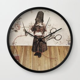 Thimble Head Wall Clock