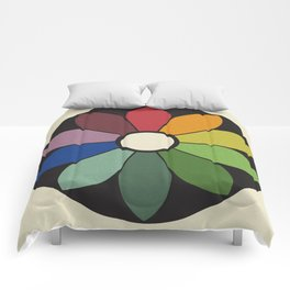 James Ward's Chromatic Circle Comforters