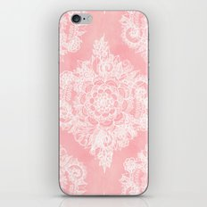 Marshmallow Lace iPhone Skin
