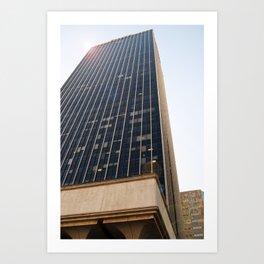 City Tower Art Print