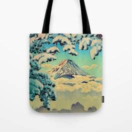 Kehiin in the Snow Tote Bag