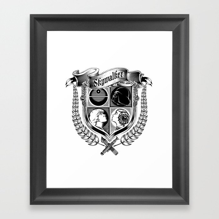 Family Coat Of Arms Framed Art Print By 6amcrisis Society6
