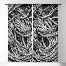 Coiled Rope Blackout Curtain