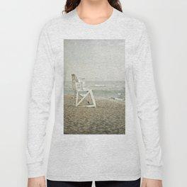 Lifeguard Chair at Dawn Long Sleeve T-shirt