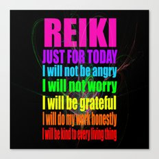 REiKi Just for... Canvas Print