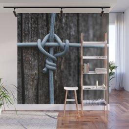 Iron Fence Knot Wall Mural