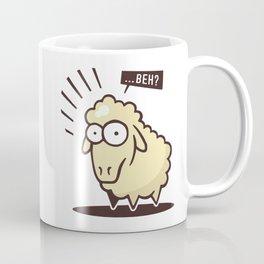 Scared Lamb! Coffee Mug