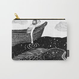 The Shimmering Sea Lights Carry-All Pouch