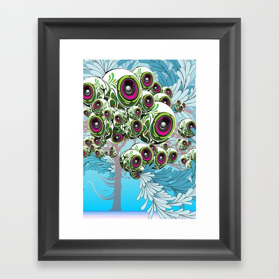 Apples for Ears Framed Art Print