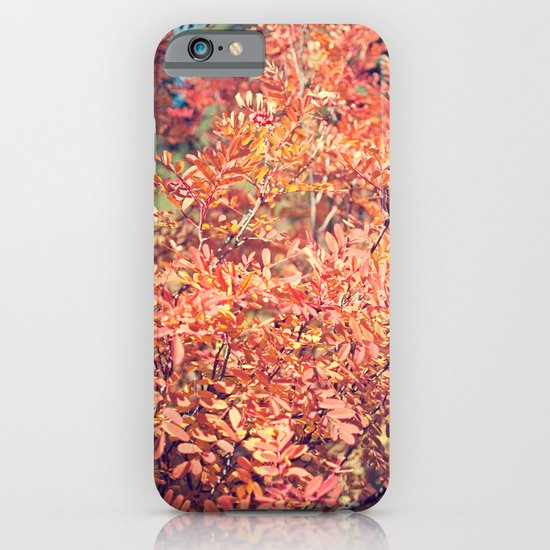Red Fall iPhone & iPod Case