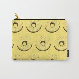 Yellow donuts Carry-All Pouch