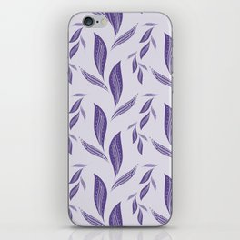 Ultraviolet Foliage #society6 #pattern #ultraviolet iPhone Skin