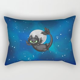 Tiny Toothless Rectangular Pillow