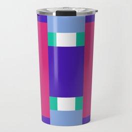 POP RECTANGLES Travel Mug