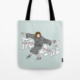 The Dude - The Big Lebowski Tote Bag