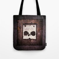 ed sheeran Tote Bags featuring Block Ed by Sirenphotos
