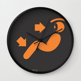 eye.r conditioner Wall Clock