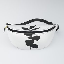 Leaves ink painting - Evie Fanny Pack