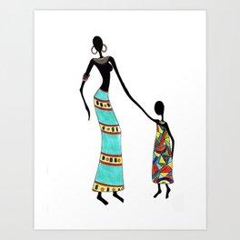 Sandaymah & Soah Art Print