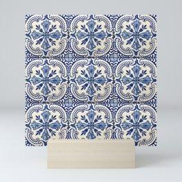 Azulejo — Portuguese ceramic #14 Mini Art Print