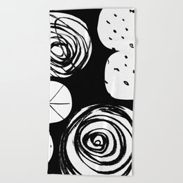 Cosmic Fight Beach Towel