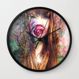 Budding Wall Clock