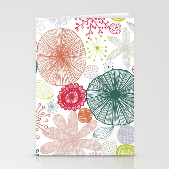 Sweet Paradise Stationery Cards