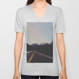 Rocky Mountains Unisex V-Neck